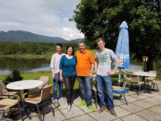 Familie Schwarz, Restaurant Seemandl, Flatschachersee